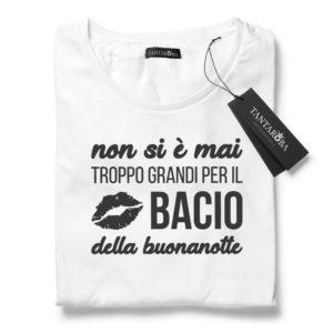 T-Shirt Bacio della buonanotte