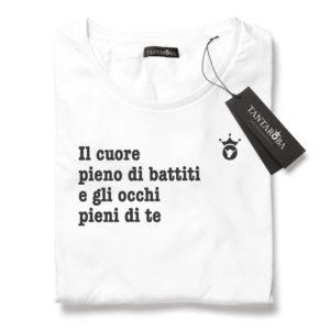 T-Shirt Jovanotti Il cuore pieno di battiti