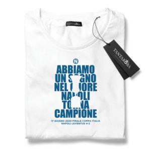 T-Shirt Napoli coppa Italia 2020