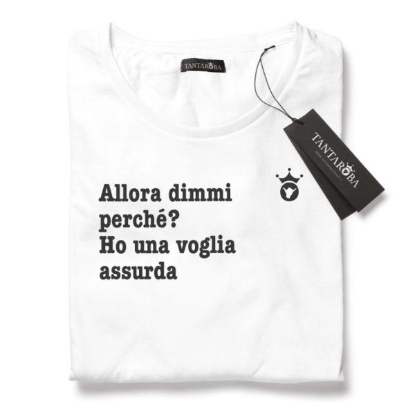 T-Shirt J-AX Ho una voglia assurda
